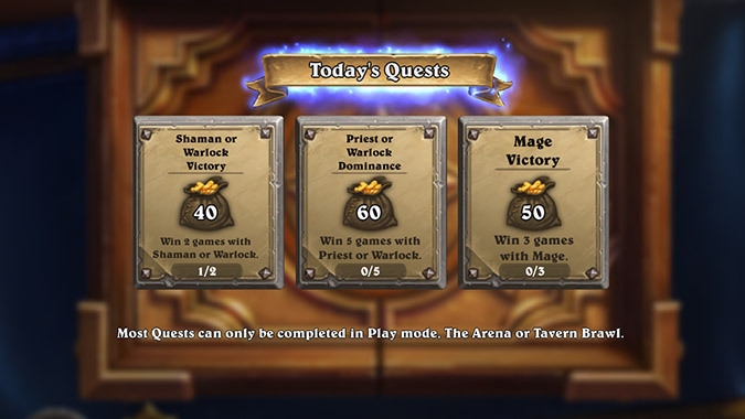 hearthstone-todays-quests